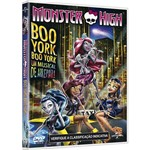 Dvd - Monster High - Boo York