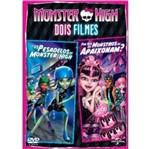 DVD Monster High - os Pesadelos de Monster High + por que os Monstros se Apaixonam ?