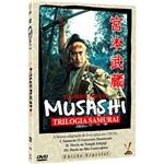 DVD - Musashi: Trilogia Samurai (3 Discos)