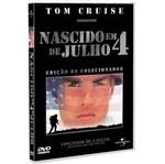 DVD Nascido em 4 de Julho - Ed. de Colecionador