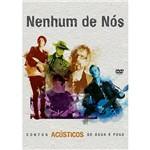 DVD - Nenhum de Nós - Contos Acústicos Água e Fogo