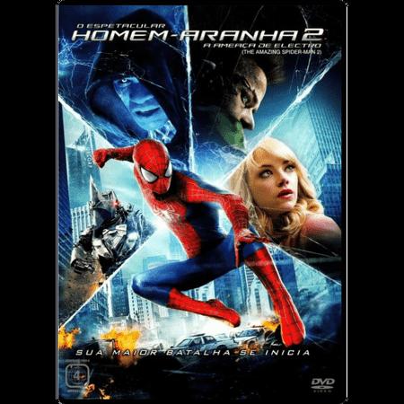 DVD o Espetacular Homem-Aranha 2 - a Ameaça de Electro