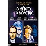 DVD - o Médico e o Monstro - Coleção Cinema em Dobro (Duplo)