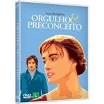 DVD: Orgulho e Preconceito - Nova Capa