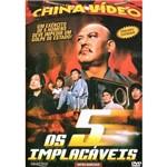 Dvd os 5 Implacáveis