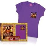 DVD os Feiticeiros de Waverly Place + Camiseta Exclusiva