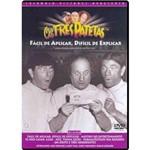 DVD os Três Patetas - Fácil de Aplicar, Difícil de Explicar