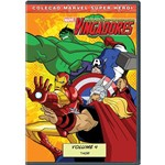 DVD os Vingadores: os Super-Heróis Mais Poderosos da Terra - Volume 4