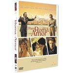 DVD - para Roma com Amor