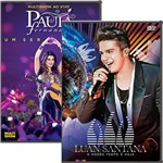 DVD - Paula Fernandes: Multishow ao Vivo Paula Fernandes - um Ser Amor + Luan Santana: o Nosso Tempo é Hoje - ao Vivo (2 Discos)