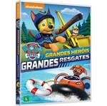 DVD Paw Patrol - Grandes Heróis, Grandes Resgates