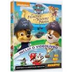 DVD Paw Patrol - os Filhotes e o Tesouro Pirata