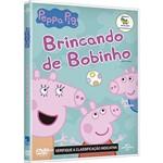 DVD - Peppa Pig Brincando de Bobinho