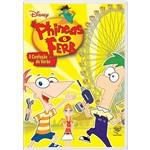 DVD Phineas e Ferb - a Confusão do Verão