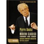 DVD Pierre Boulez And The Chicago (Importado)