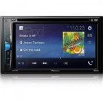 "Dvd Player Automotivo 6,2"" Avha208bt Preto Pioneer"