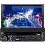 """DVD Player Automotivo Multilaser Blade Tela 7"""" com USB, SD, AUX e Entrada para Câmera de Ré"""