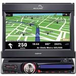 """DVD Player Automotivo Multilaser P3156 Tela 7"""" - TV Digital, GPS, Entradas USB, SD, AUX e Rádio AM/FM"""
