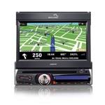 Dvd Player Automotivo Multilaser Retrátil com Gps e Tv Digital Explorer - Tela 7 Touch Screen - Usb