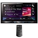 "DVD Player Automotivo Pioneer Avh-X595BT 7"" com Bluetooth/USB - Preto"