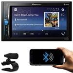 DVD Player Automotivo Pioneer Mvh-a208vbt 2 Din 6.2 Polegadas Bluetooth USB Aux Rca Am Fm