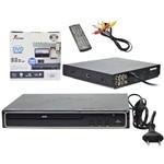 Dvd Player com Saida Hdmi Pendrive Usb Mp3 Display Led