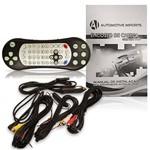 DVD Player Tela para Encosto de Cabeça 7 Polegadas LCD com Game USB S com Transmissor FM Touchcreen