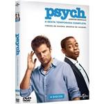 DVD - Psych - a Sexta Temporada Completa - 6ª Temporada (4 Discos)