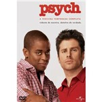 DVD Psych - 3ª Temporada - Volume 1 - 4 DVDs
