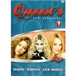 Dvd Queens Of Music Pop 1 - Shakira - Madonna - Kylie Minogue