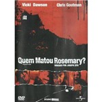 Dvd Quem Matou Rosimary