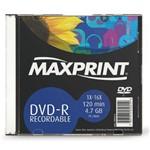 Dvd-R C/ Capa Maxprint