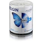 DVD-R Elgin Printable 4,7GB/120min 8x (Pino C/ 100)