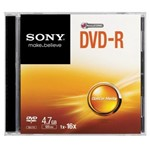 DVD-R Slim Case 4.7gb 16x Dmr47ss - Sony