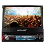 """DVD Retrátil 7"""" GPS TV Digital Extreme+ GP044 Multilaser"""