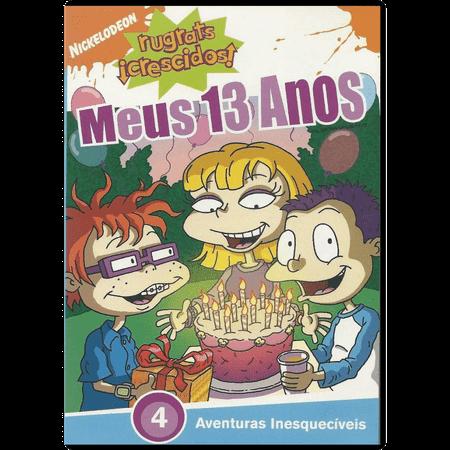 DVD Rugrats Crescidos - Meus 13 Anos