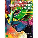 Dvd Sambas de Enredo 2016 - Grupo Especial - Rio de Janeiro