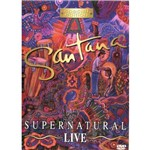 Dvd Santana- Super Natural Live