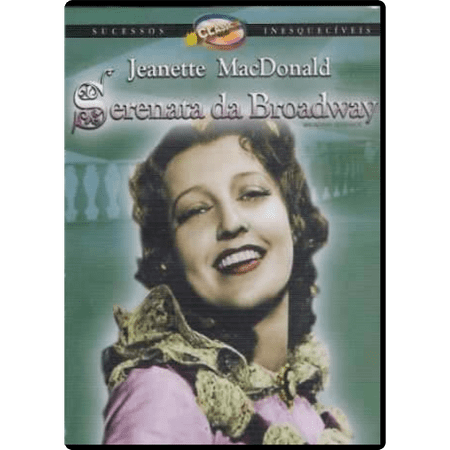 DVD Serenata da Broadway