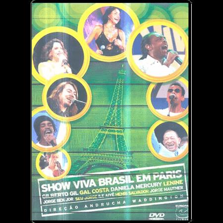 DVD Show Viva Brasil em Paris