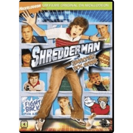 DVD Shredderman - Justiceiro dos Nerds