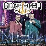 DVD - só Pra Contrariar e Raça Negra - Gigantes do Samba - ao Vivo em SP