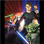 DVD Star Wars The Clone Wars: uma Galáxia Dividida