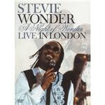 Dvd Stevie Wonder-a Night Of Wonder