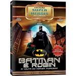 DVD Super Heróis - Batman e Robin (2 Discos)