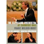 DVD The Cleveland Orchestra - At Carnegie Hall (Importado)