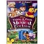 DVD Tigrão & Pooh e um Musical Bem Legal