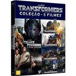 DVD - Transformers - Coleção (5 Filmes)