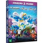 DVD - Trilogia: os Smurfs