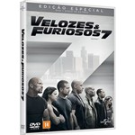 DVD - Velozes e Furiosos 7 - Edição Especial (Duplo)